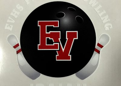 EVHS BOWLING DECALS