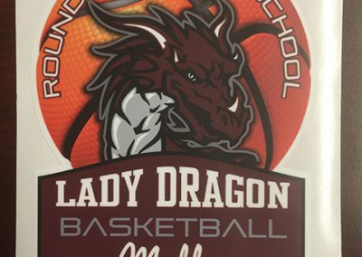 RRHS BASKETBALL DECAL